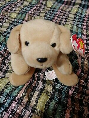 41a700fbe2c Retired Beanie Baby Fetch Hang Tag tush Tag Error Collectible