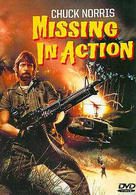 Missing in Action (DVD, 1988) LIKE NEW IN WRAPPING STARS CHUCK NORRIS 4.99