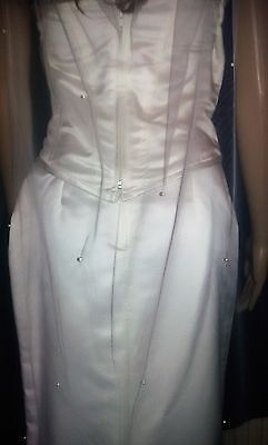"""Ivory wedding veil cathedral bridal veil with scattered pearls. 1 Tier 108"""""""
