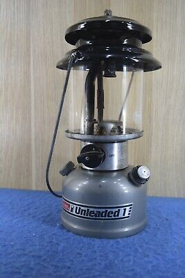 Coleman Unleaded 1 282-700 Lantern Camping Hiking Old Tool