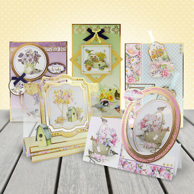 Pick of the MONTH -BRAND new LUXURY CARD making KIT Hunkydory GARDEN TREASURES 3