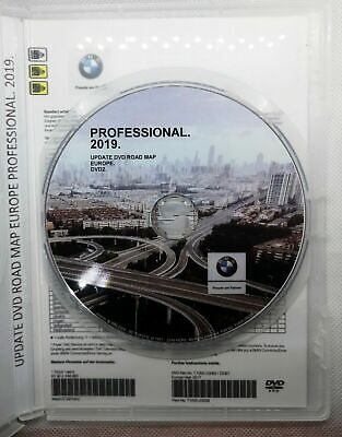 Bmw Navigation Navi Road Map Europe Professional 2019 Blitzer Edition Dvd2 Map2