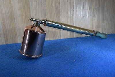 Vintage Rega Brass And Copper Bug Sprayer Old Tools