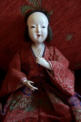 RARE ANTIQUE JAPANESE DOLL -  Late Meiji (1868-1912) to early Taisho (1912-1926)