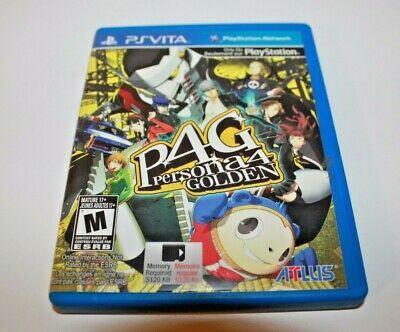 Persona 4: Golden (Sony PlayStation Vita, 2012) Tested and Ready to Play!!!