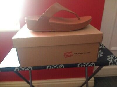 826358e6312a SIZE 6 NEW FitFlop Ladies Womens Slinky Rokkit Crystal Toe Post ...