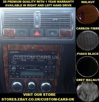 VW GOLF MK4 1997-2004 Volkswagen Dash Kit - Walnut - Piano Black - Carbon Fibre