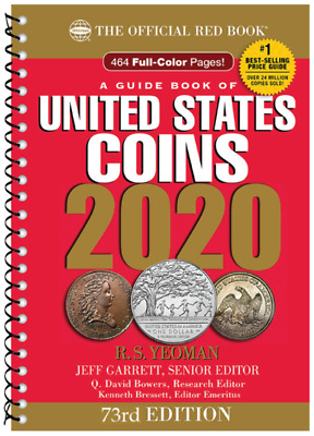 2020 Red Book Price Guide of United States Coins