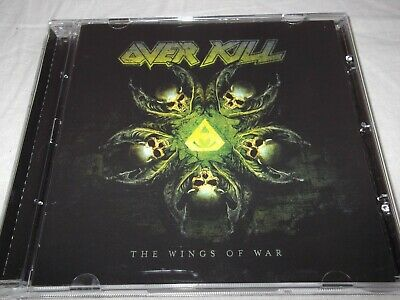 Overkill .the Wings Of War .cd. 2019 . 13 Tracks.