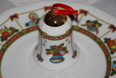 Rosenthal Classic  Weihnachtszauber 2  Porzellanglocke Christmas Collection OVP