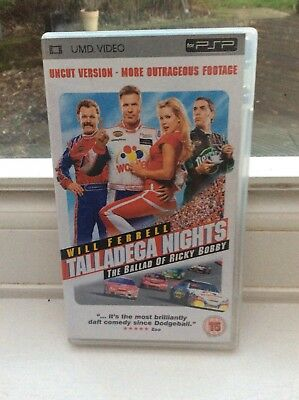 Talladega Nights - Ballad Of Ricky Bobby : UMD Film for Sony PSP Mint Condition