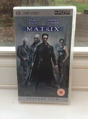 THE MATRIX : UMD Film for Sony PSP in Mint Condition