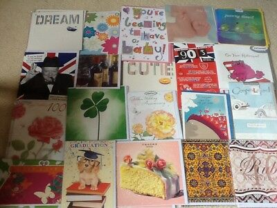 Wholesale joblot greetings birthday cards X 40 All Occasions All Sealed