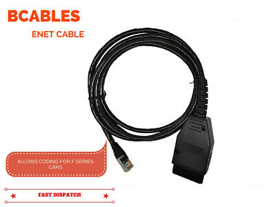 Bmw Enet Diagnostic & Coding Cable For All Bmw F-Series Cars Obd2