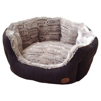 Nobby Dog Bed Oval Cacho Brown, Various Sizes,