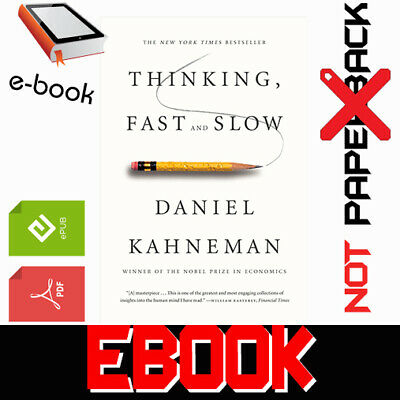 Thinking, Fast and Slow By Daniel Kahneman FAST DELIVERY [PDF-EPUB] + GIFT