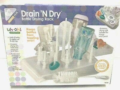 NEW Mommy's Helper Drain 'N Dry Bottle Drying Rack