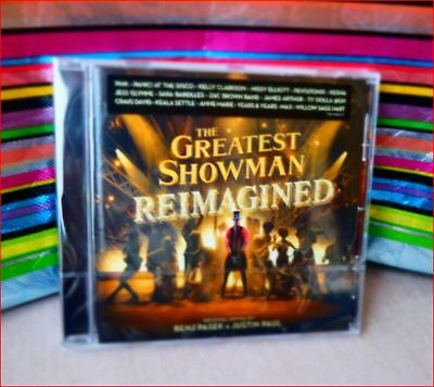 "New Nov'18 Fast Freepost ""Greatest Showman Reimagined"" CD Jess Glynne This is Me"