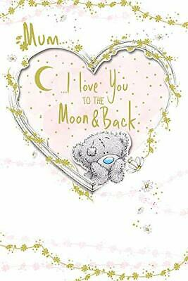 Me to You Hand Made Mother's Day Card - Mum - I Love You to The Moon and Back...