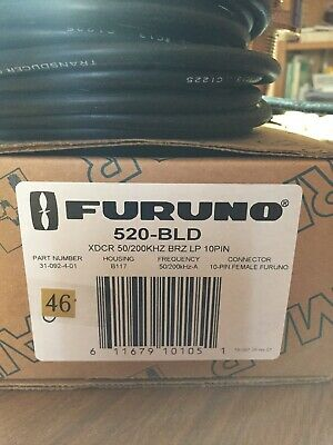 Airmar (46)Transductor B117 FORUNO 10 Pines hembra 600W RMS 31-092-4-01 BRONCE