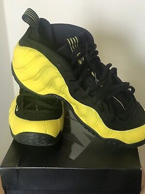 quality design 16695 c0828 Nike Air Foamposite One Wu Tang Clan Black Yellow 314996 701 Men s Size 10.5