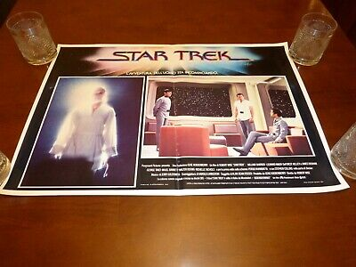 Star Trek The Motion Picture original Italian 26x18 lobby card poster Ilia Kirk