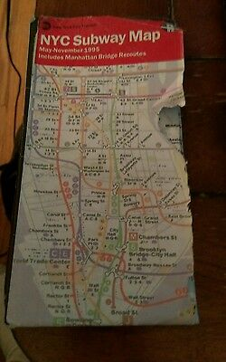 Nyc Subway Map Pda.Nyc Subway Map New York City Mta Transit May 2005 International