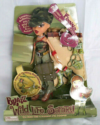 Bratz Wild Life Safari Doll And Accessories 2004, Fianna, New In Box