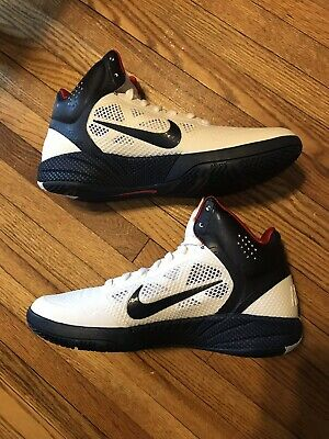 reputable site c98f4 aba2a Nike Air Hyperfuse Team USA Basketball Kevin Durant KD PE Olympics sz 9 DS  NEW