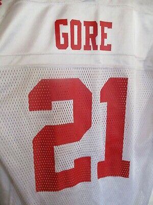 FRANK GORE  21 San Francisco 49ers NFL Authentic Reebok Jersey Youth ... 5d5375f0f