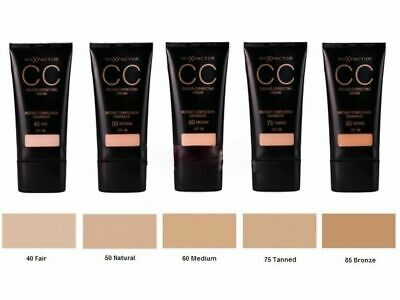 MAX FACTOR CC Colour Correcting Cream SPF10 30ml   - CHOOSE SHADE - NEW Sealed
