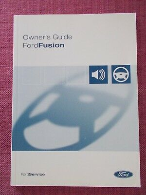 Ford Fusion (2002 - 2005) Owners Manual - Handbook - Owners Guide. (Fo 371)