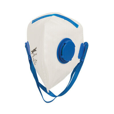 Silverline Fold Flat Valved Face Mask FFP2 NR FFP2 NR Single