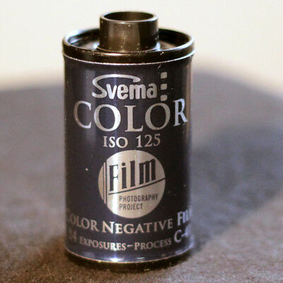 35mm Film - SVEMA COLOR 125 (1 ROLL)