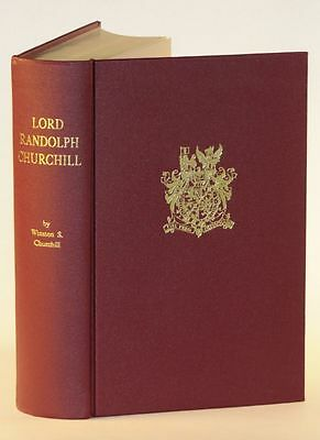 Winston Churchill - Lord Randolph Churchill, bound using Collected Works sheets