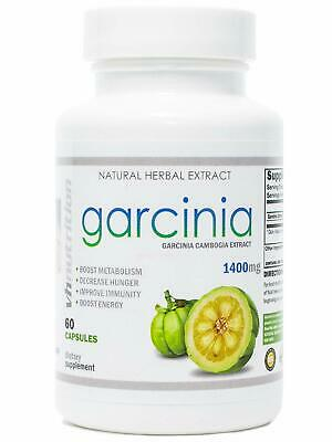 Garcinia Cambogia 60 Hca Extract Capsules Weight Loss Herb 30 Day Supply