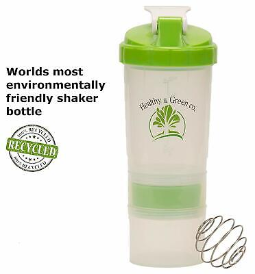 Stackable Shaker Bottle Protein Shaker 100% Recycled Plastic Free eBook