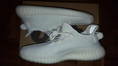 383eb6051 adidas Yeezy Boost 350 V2 Cream Triple White Men Sz 9.5 cp9366 SPLY Kanye  West