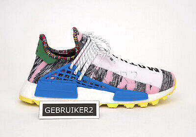 finest selection 3af0f 78e32 ADIDAS ORIGINALS X Pharrell PW Afro Solar Pack Hu NMD Pink BB9531  Motherland us9
