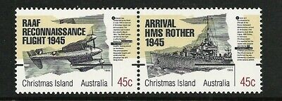 1995 Christmas Island - 50th Anniversary of the end of WWII (2)  MUH