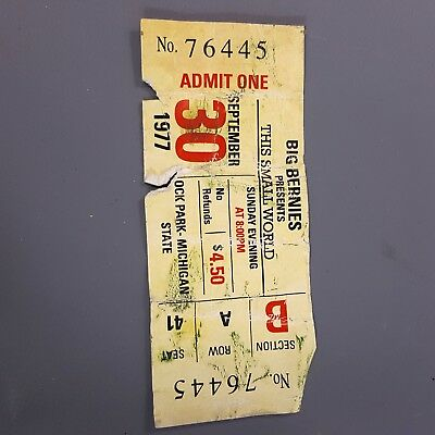 ASH vs EVIL DEAD - Bruce Campbell's Screen Used Concert Ticket