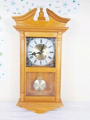 Constant  Regulator Pendulum Wall Clock with Westminster type chime