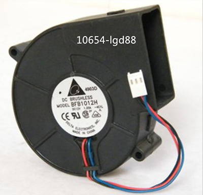 For Delta BFB1012HH Blower Fan 97mm x 33mm 12V DC 3 Pin Connector @6