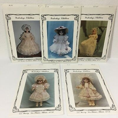 "Vtg Yesterdays Children Antique Doll Sewing Patterns 15"" - 24"" New in Pkg U-Pick"