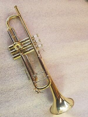 31485 / Bach Stradivarius 37 Trumpet with case ultrasonic cleaned ready to play