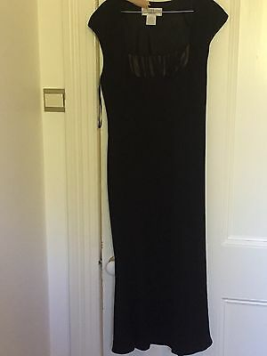 Black Cocktail/Evening Dress: Jones New York-Size 10 or 12