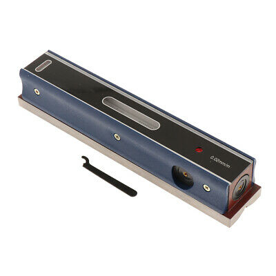 Precision Bar Level Tool with Case 0.02mm, High Accuracy, Sensitivity, 250mm