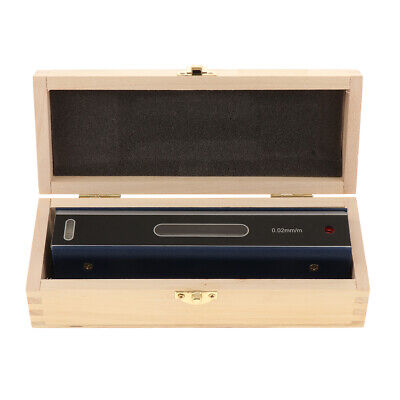 Precision Bar Level Tool with Case 0.02mm, High Accuracy, Sensitivity, 200mm