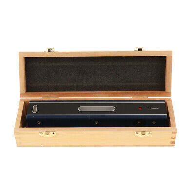 New Precision Bar Level Tool with Case, 0.02mm, High Accuracy, Sensitivity