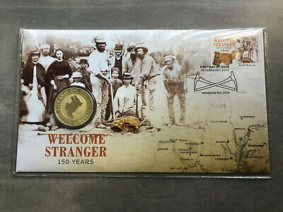 New Mint Uncirculated Welcome Stranger 150 Years 2019 $1 Coin PNC Limited 7500